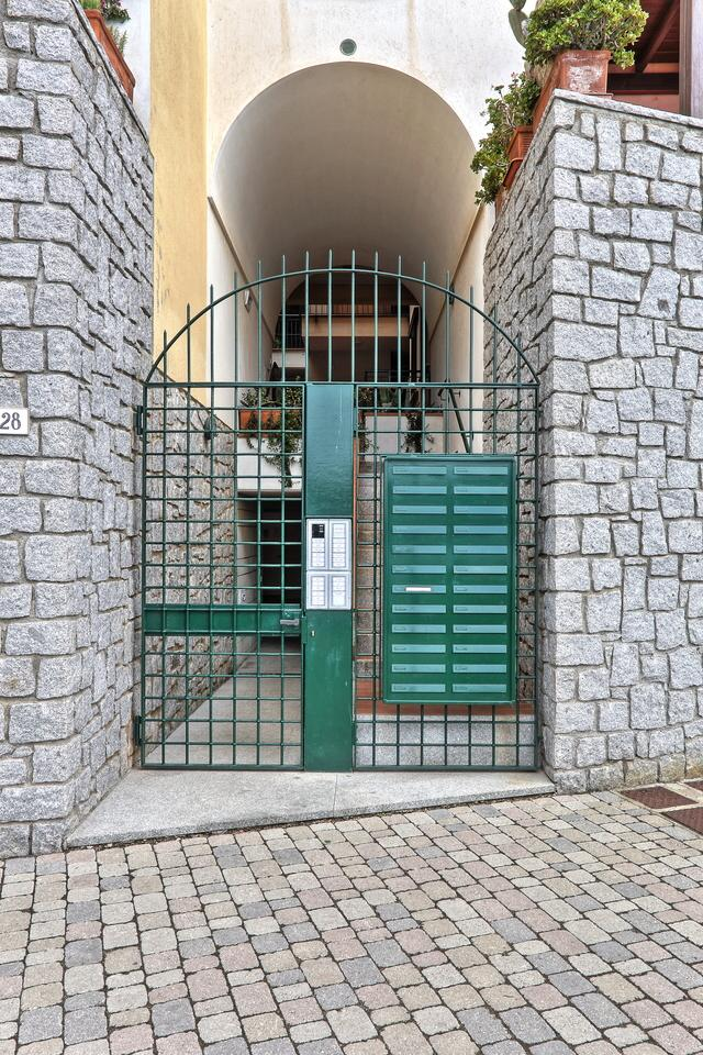 Cancello d'ingresso – Eingangstor - 	the entrance gate